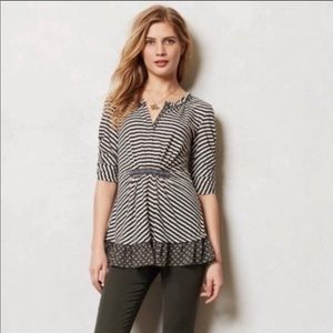 Antho/ One September Galicia Pullover Blouse